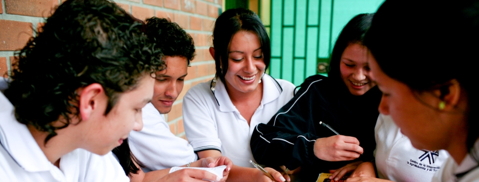 Students from , Colombia. Photo: © Charlotte Kesl / World Bank